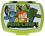 Contenitore Portapranzo Porta merenda Scatola Sandwich Box per Bambini (Minecraft)