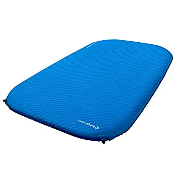 KingCamp Deluxe Series Thick Self Inflating Camping Sleeping Pad Foam Mat Mattress Single and Double 4 Size