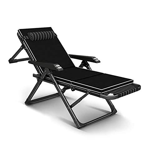Gartenstuhl, klappbarer Liegestuhl Hochleistungs-Gartenmöbel-Sets Sonnenliege Garden Camping Gartenstühle Klappbarer Liegestuhl ohne Schwerkraft Liege