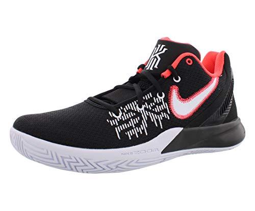 Nike Mens Air Kyrie Flytrap II Basketball Shoes Black/White/Bright Crimson AO4436-008 Size 9.5