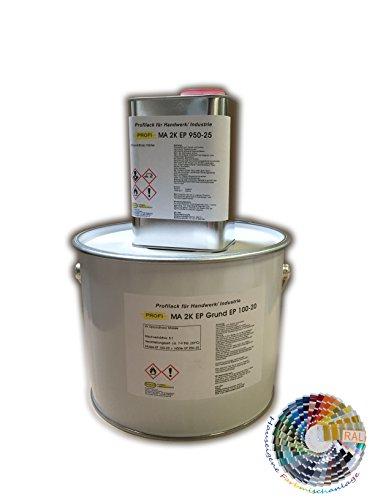 PROFI 2K EP Grund Grundbeschichtung für Pools aus Alu, Eisen, Kunststoff (GfK) (6 Kilogramm)