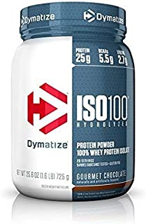 Dymatize Lean Essentials Stack - 1.6 lbs ISO100 Gourmet Chocolate + Pre Workout Chilled Fruit Fusion + All9 Juicy Watermelon