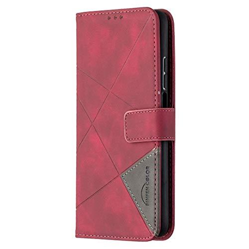 WANYINGLIN Colorful Magnet Wallet Hülle für Samsung A52,Stunning Leder Leather Stand Function with Soft Slim Amazing Card Slot Holder Musterg Girl 3D Totem