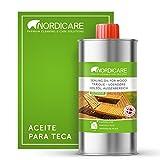 Nordicare Aceite para madera exterior [500ml] Aceite...