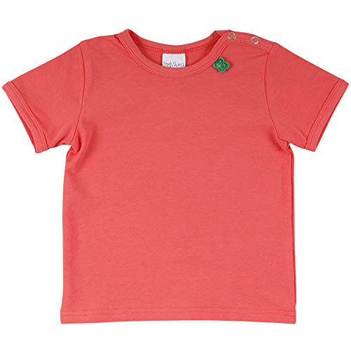 Fred'S World By Green Cotton Alfa S/s T Baby T-Shirt, Orange (Coral 016164001), 98 Bébé Fille