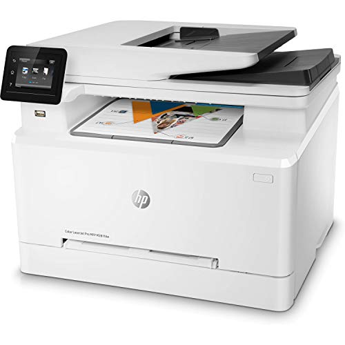 HP Laserjet Pro M281fdw All in One Wireless Color Laser Printer (T6B82A) (Renewed)