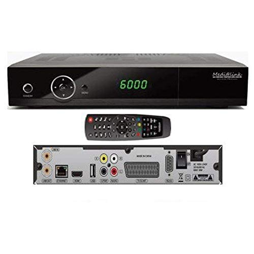 B-Ware Medi@link Black Panther FTA Premium HD Receiver
