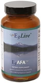 E3Live AFA, 240 Caps (400mg each) by E3Live