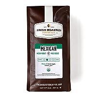 Mexican Chiapas Organic Coffee, Whole Bean, Fresh Roasted Coffee LLC (2 lb.)