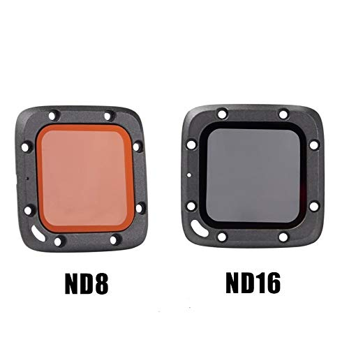 YIJIABINGRU ND8 ND16 Objektiv-Filter for Foxeer Box 1 / Box 2 FPV Kamera RC Modelle Ersatzteil DIY Zubehör Drone Teile (Color : ND8)