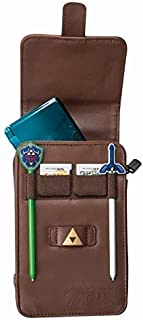 PowerA The Legend of Zelda Adventurer's Pouch - Nintendo 3DS/ Wii GameCube - Brown