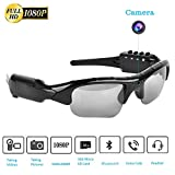 Bluetooth Sunglasses Camera,Camera Glasses Full HD 1080P with Wide Angle Mini...