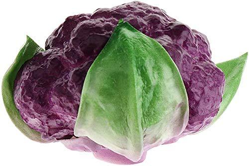 Tubayia Verduras Artificiales realistas, Verduras, Verduras, decoración de fotografía, Accesorios