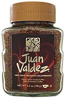 2 PACK Juan Valdez Freeze Dried Colombian Premium Coffee / Cafe Colombia