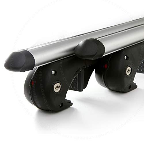 """LT Sport 00842148143528 for Murano Aluminum Roof Rack 54"""" Top Cross Bars Adjustable Carrier Kit"""