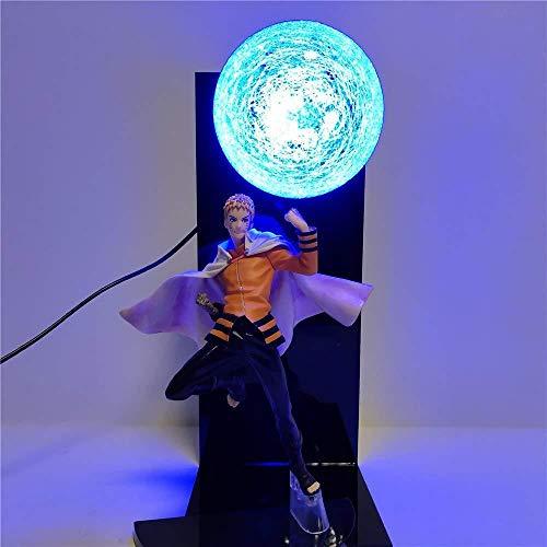 Naruto Naruto Figurine Modèle Led Lumière Shippuden Anime Figurine Pour Enfants Cadeau De Poupée Collecteur Modèle Fait Main Bonne Qualité Design Créatif À Collectionner Cadeau Pour Petit Ami