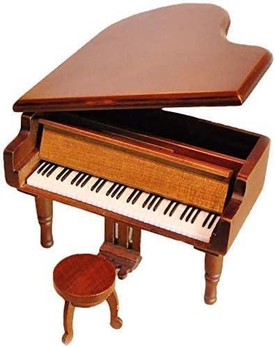 TYTZSM TZSJYYH Dallas Mall Music Box Mechanism Wooden Wind-Up Max 45% OFF Retro Mu Piano