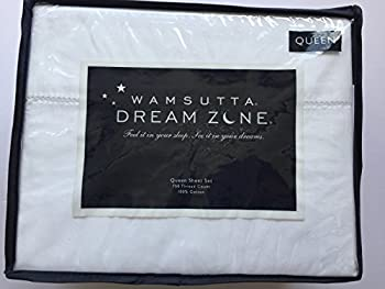 Wamsutta Dream Zone Queen Sheet Set White 750 Thread Count