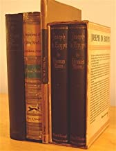 Thomas Mann 5 vol. Vintage Hardcover set: JOSEPH IN EGYPT (2 vol. in slipcover), THE TABLES OF THE LAW, JOSEPH THE PROVIDER, CONFESSIONS OF FELIX KRULL, CONFIDENCE MAN