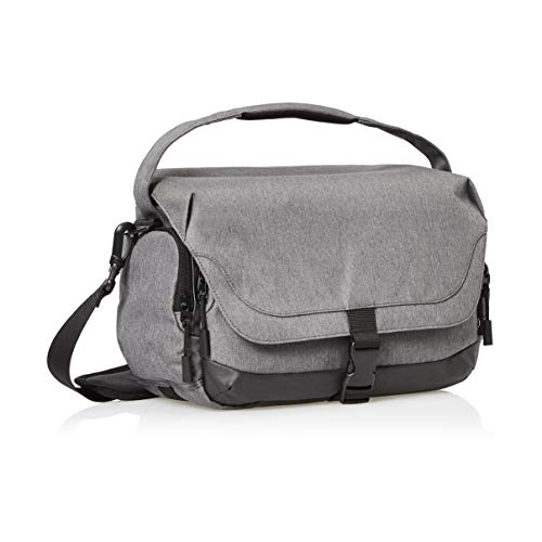 Amazon Basics Large DSLR Camera Gadget Bag - 11 x 6 x 8 Inches (Gray)