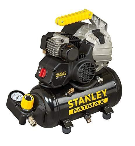 Stanley 2017203 Kompressor HY 227/8/6E (kompakt; elektrisch; Druck 8bar; 15 kg; Tank 6l; Motorleistung: 2 PS)