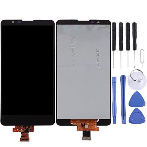 Hdbcf LCD-Display und Digitizer für LG Stylus 2 / K520, Schwarz