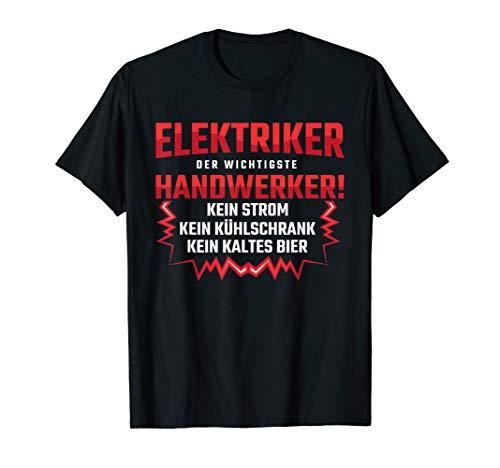Herren Elektriker (Meister), Installateur Geschenk-Idee I T-Shirt