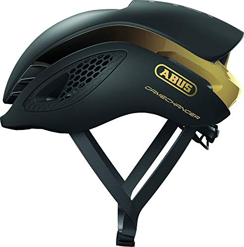 Abus Gamechanger Aero- Helm Casco de Bicicleta, Unisex Adulto, Amarillo (Neon Yellow), S (51-55 cm)