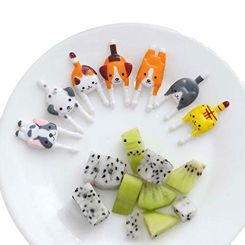 Mini-Bento-Picker mit Tiermotiven, für...