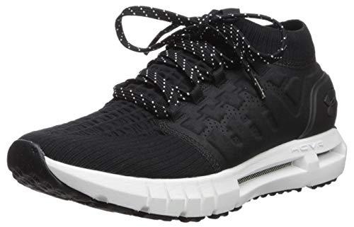 Under Armour Men's HOVR Phantom Connected Running Shoe, Black (010)/White, 9 M US