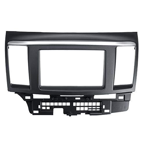 JenNiFer Autoradio Schalttafeleinbau Einbauverkleidung Blendenrahmen Für Mitsubishi Lancer Fortis
