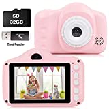 CKATE Kids Camera Toys Dual Lens Digital Selfie Camera for 3-10 Year Old