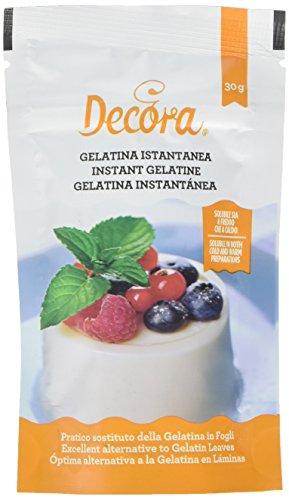 Decora 9261650 Gelatina Istantanea In Polvere 30 G