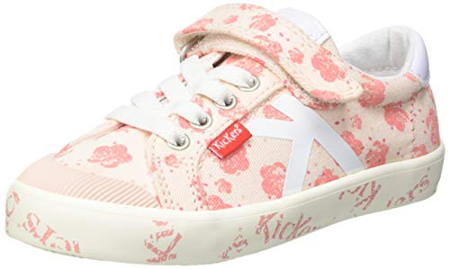 Kickers GODY, Zapatillas Unisex bebé, Rose Flower, 25 EU