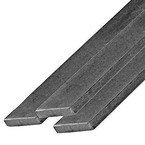 M.P. Metalli Barra piatta in ferro mis. 25x3x1000 mm, in varie dimensioni, Made in Italy