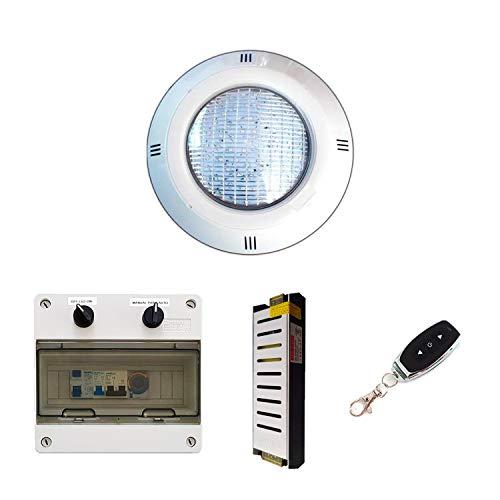 Warmpool Pack Focos LED para Piscina Luz Blanco Cálido 35W + Transformador...