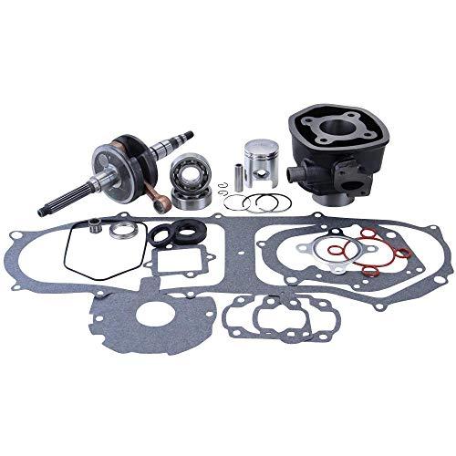 Yamaha Aerox Zylinder + Kurbelwellen Set CS 50 Jog MBK YQ50 Nitro CS50 Mach G