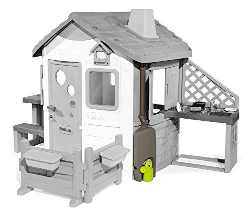 Smoby-Set recoge-aguas para Jura Lodge II (810906) Accesorio casita, color gris , color/modelo surtido