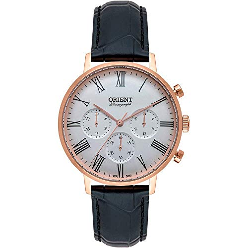 Relógio Orient Masculino Ref: Mrscc021 S3px Cronógrafo Rosé