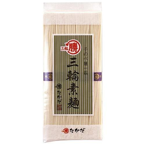 マル勝高田 三輪素麺 大判500g×20個入