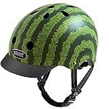 Nutcase - Patterned Street Bike Helmet for Adults, Watermelon, Medium