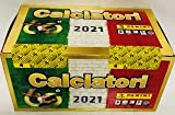 ABJ Box da 100 BUSTINE di Figurine CALCIATORI 2020-2021 PANINI