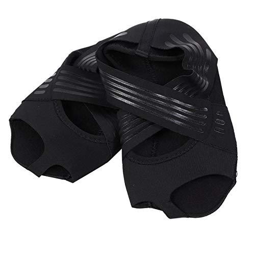 Calcetines de Yoga, Zapatos de Yoga Mujeres Niñas Suave Suela Antideslizante Calcetines...