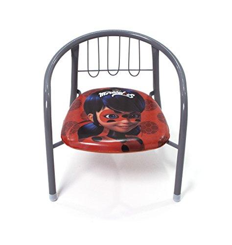 Arditex lb11720 – Chaise de métal Motif Lady Bug