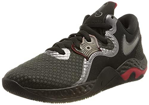 Nike Renew Elevate 2, Zapatillas de bsquetbol Unisex Adulto, Anthracite Black Gym Red Mtlc Dark Grey, 47.5 EU