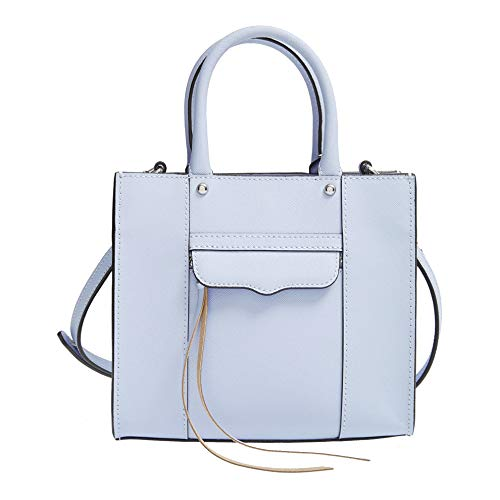 Rebecca Minkoff Powder Blue Leather Mini MAB Tote