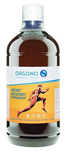 ORGONO SPORTS RECOVERY | Silicium Liquide + Glycine | Recommandée pour les athlètes | Augmente la Production de Collagène | Complément Alimentaire pour Os, Articulations, Peau et Muscles.