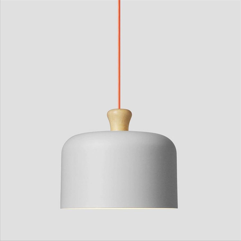 Lh&Fh Simplicité Creative Retro pour la cuisine Belle Fantaisie Aluminium pendentif lumière Chandelier, gris, A