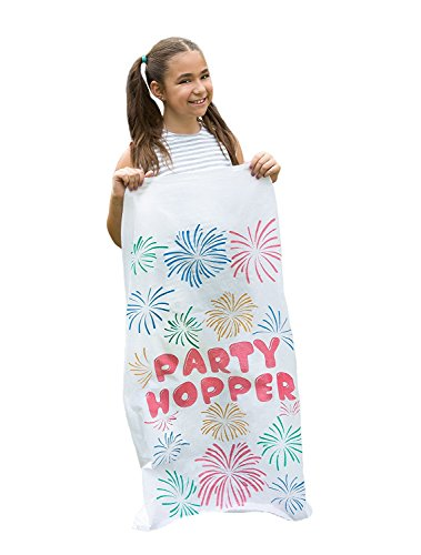 """8 Pack - Durable Potato Sack Race Bags, No Weird Burlap Odors, No Messy Burlap Fibers, 23.5"""" x 41"""", Birthday Party Games, Outdoor Games for Kids"""