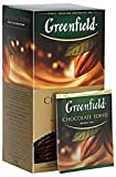 [2 PACK] black tea Greenfield CHOCOLATE TOFFEE Beverages Grocery Gourmet Food [25 of tea bags in 1 PACK]